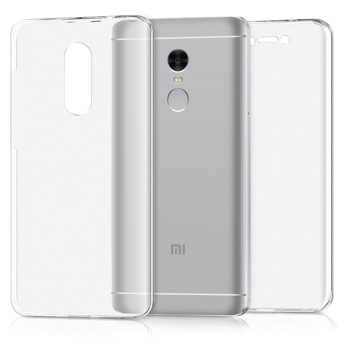 KW Διάφανη Θήκη Σιλικόνης Full Body Xiaomi Redmi Note 4 / Note 4X (44354.03)