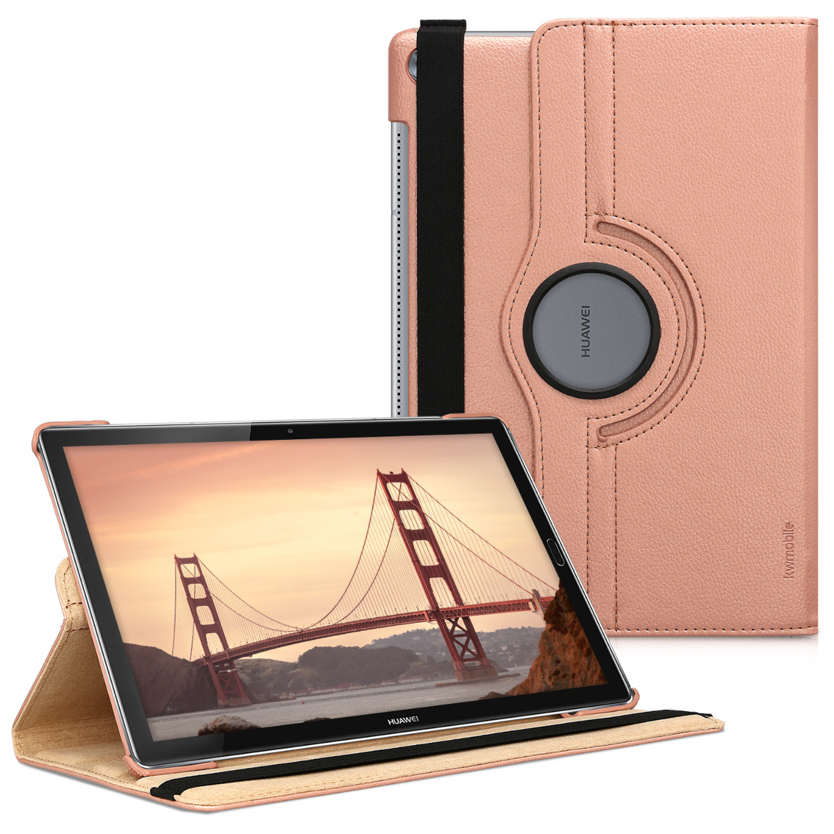 KW Θήκη 360° Huawei MediaPad M5 10.8'' / M5 10 Pro - Rose Gold (44414.81)