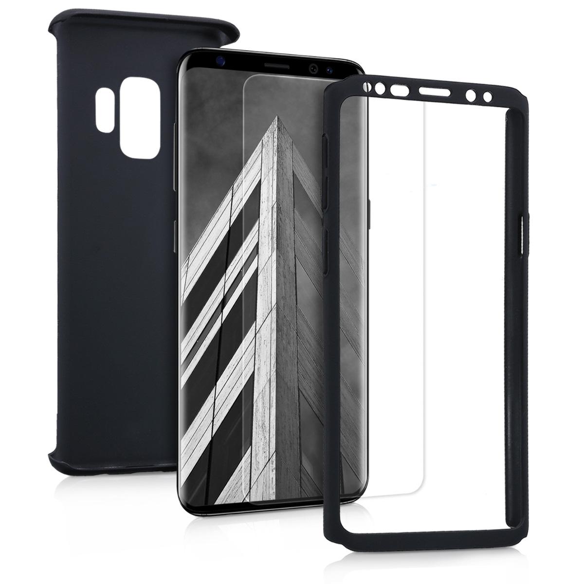 KW Θήκη Full Body για Samsung Galaxy S9 & Screen Protector - Metallic Black (44465.68)