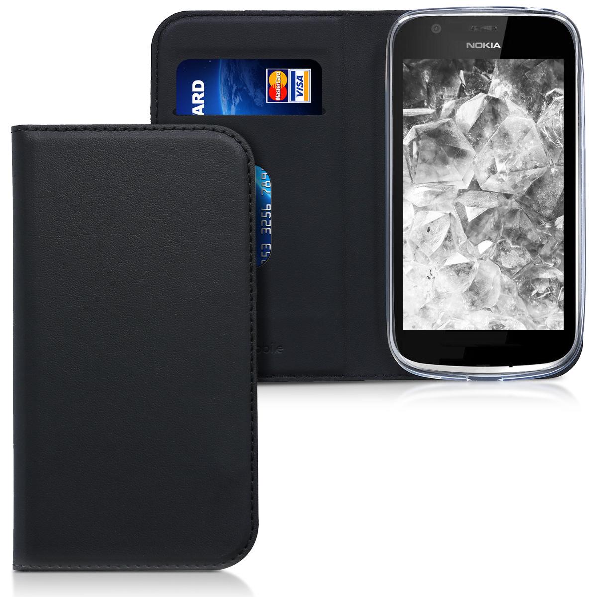 KW Θήκη Flip Nokia 1 - Black (44505.01)