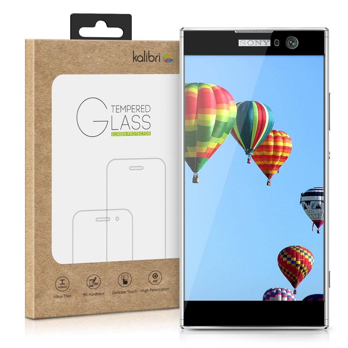 Kalibri Tempered Glass - Fullface Αντιχαρακτικό Γυαλί Οθόνης Sony Xperia XA2 (44594.01)