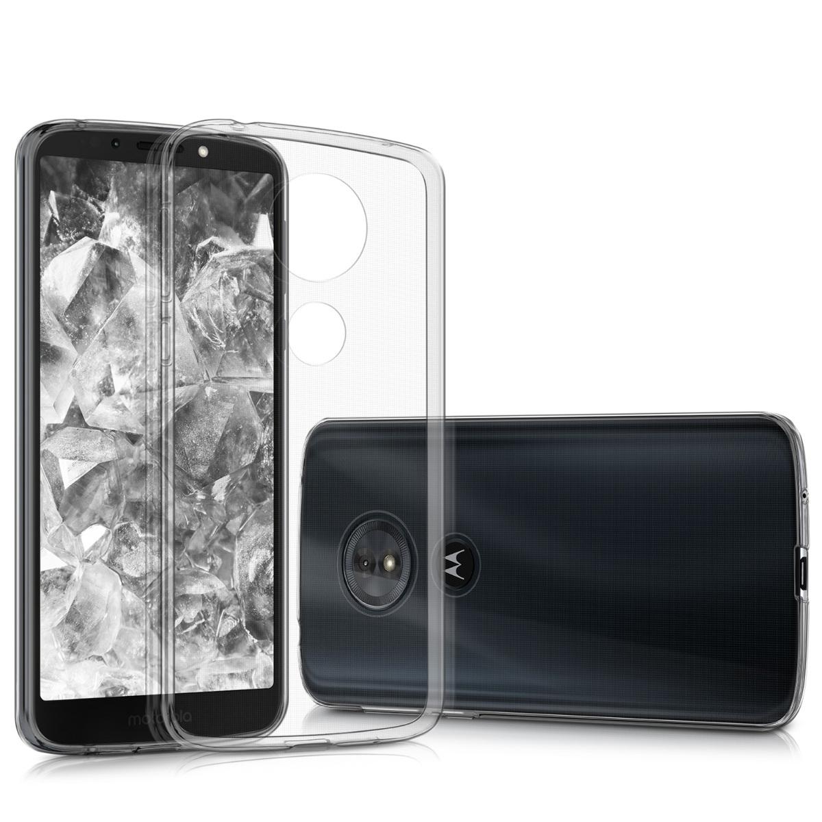 KW Διάφανη Θήκη Σιλικόνης Motorola Moto G6 Play - Transparent (44617.03)