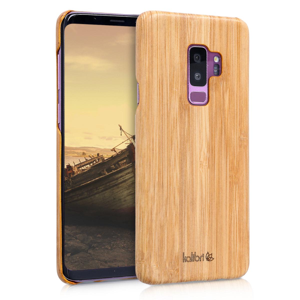Kalibri Ξύλινη Θήκη Samsung Galaxy S9 Plus - Ultra Slim - Light brown (44689.24)
