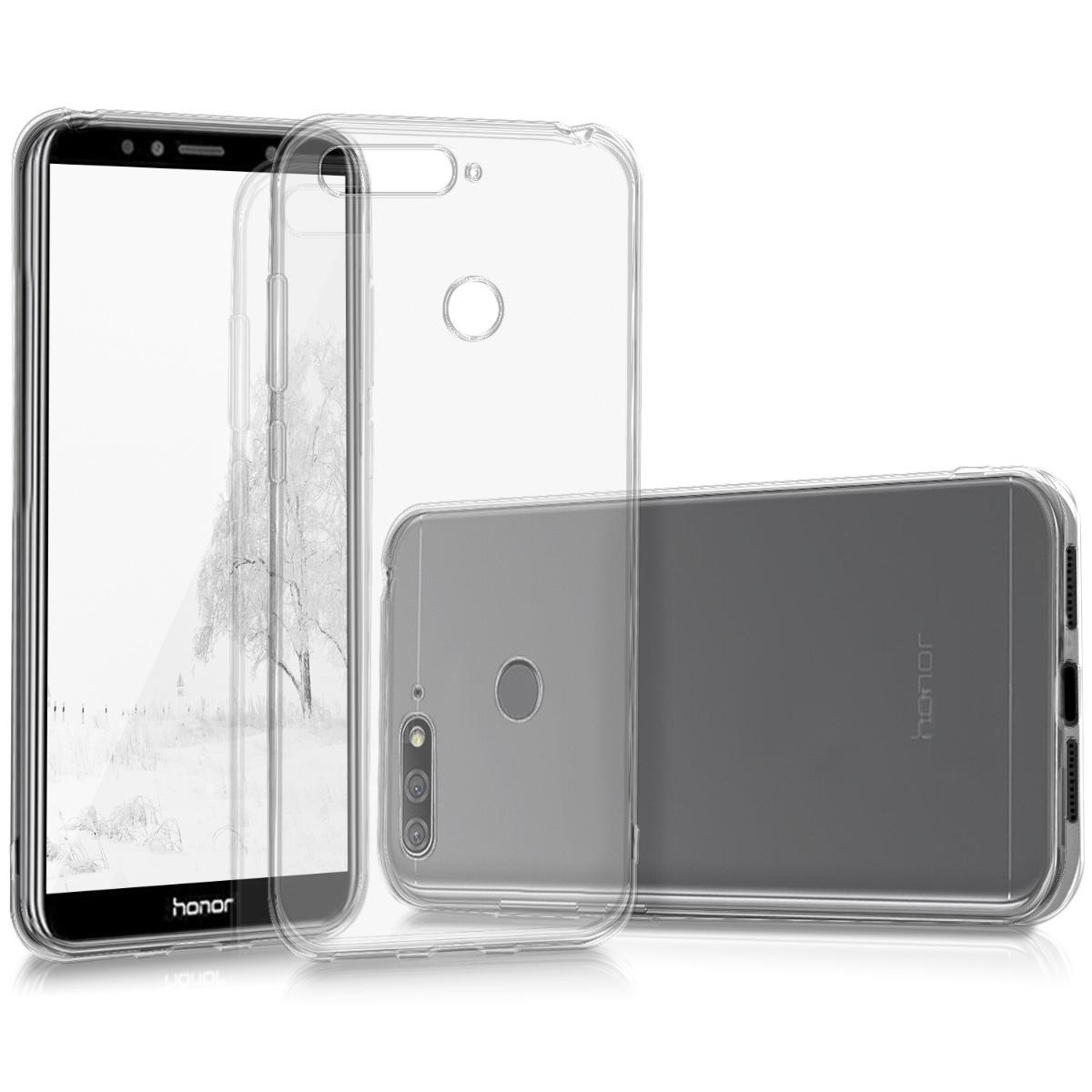 KW Διάφανη Θήκη Σιλικόνης Huawei Honor 7A (44825.03)