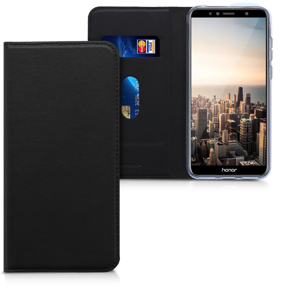 KW Θήκη Flip Huawei Honor 7A - Μαύρο (44826.01)