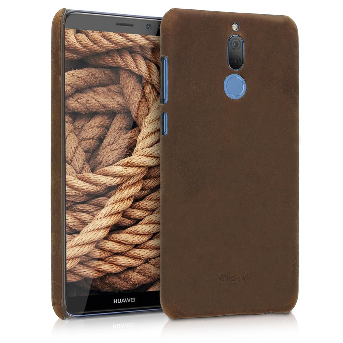 Kalibri Σκληρή Δερμάτινη Θήκη Huawei Mate 10 Lite - Brown (44901.05)