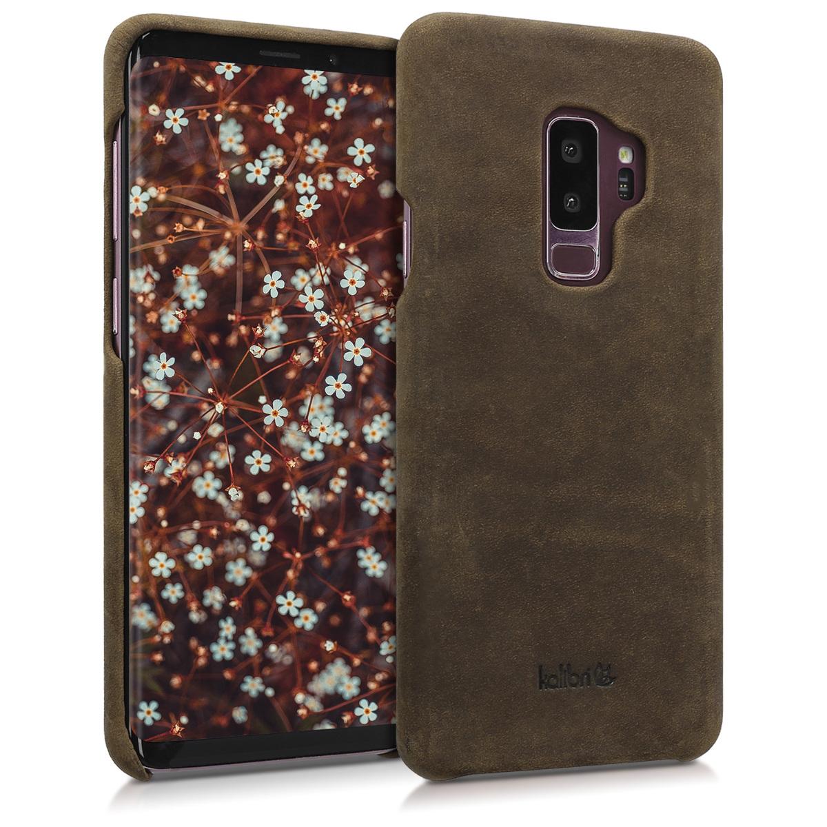 Kalibri Σκληρή Δερμάτινη Θήκη Samsung Galaxy S9 Plus - Brown (44935.05)