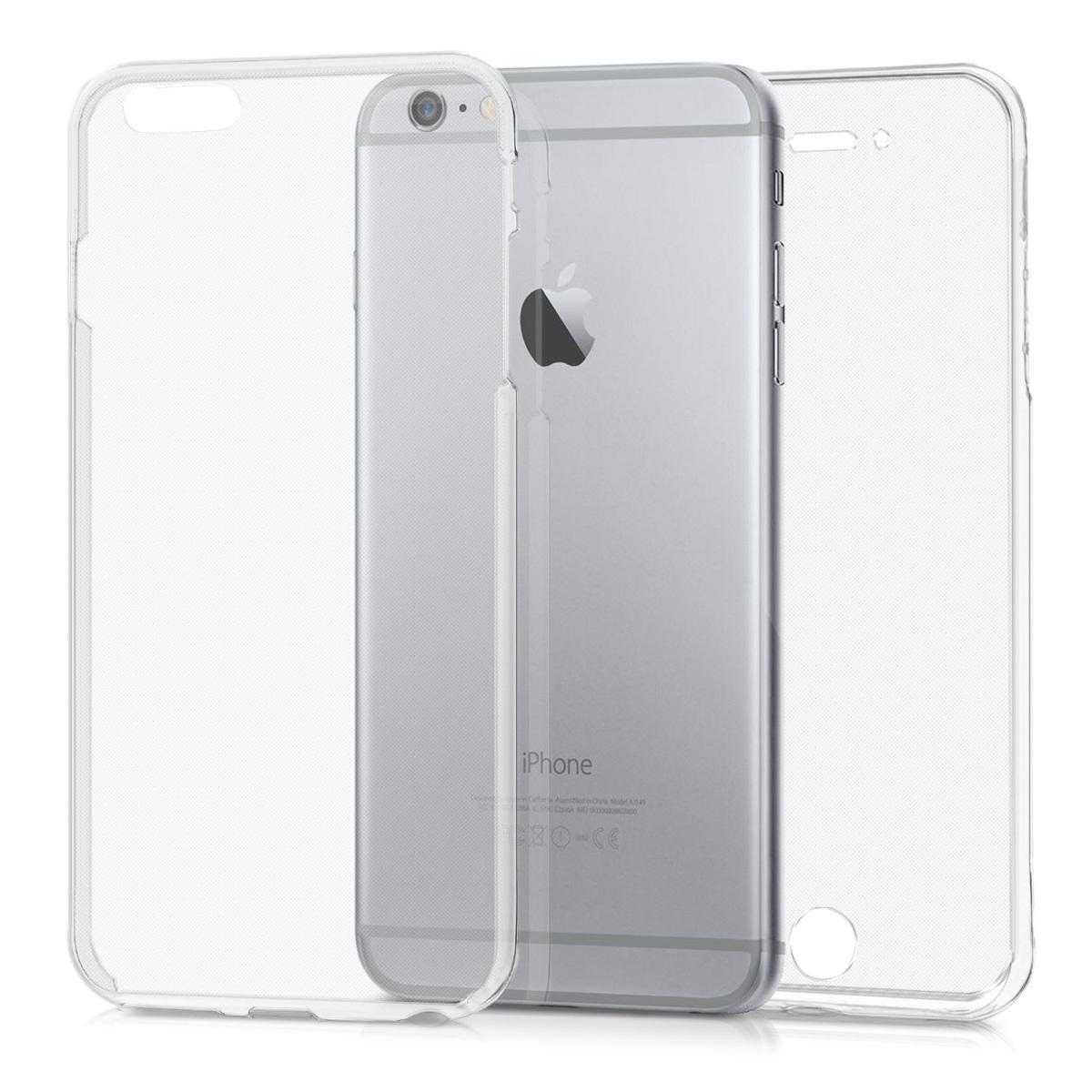 KW Διάφανη Θήκη Σιλικόνης Full Body iPhone 6S Plus / 6 Plus (44958.03)