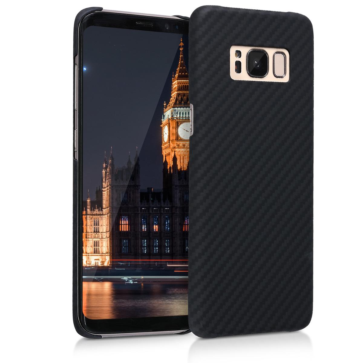 Kalibri Aramid Fiber Body - Σκληρή Θήκη Samsung Galaxy S8 - Black Matte (44988.47)