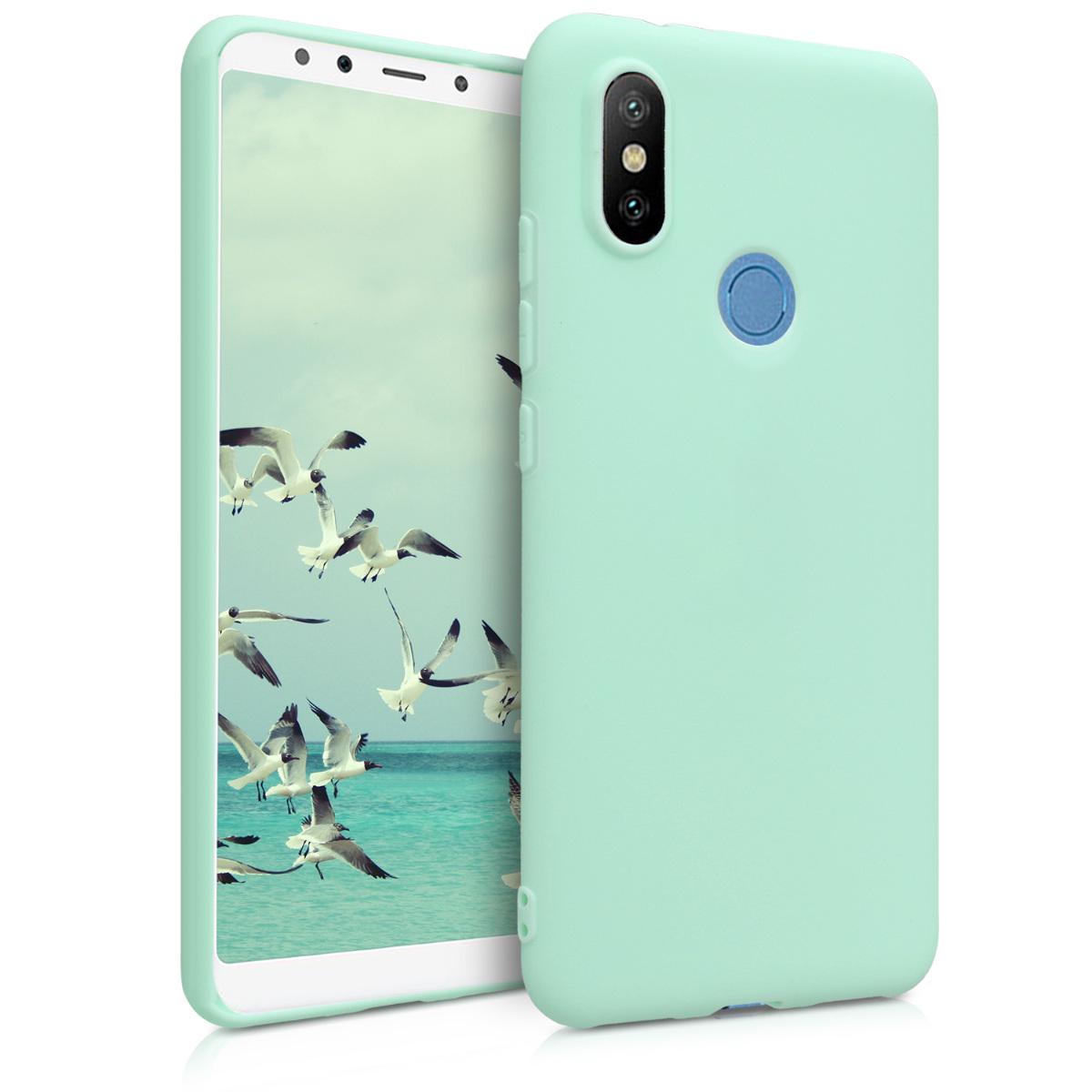 KW Θήκη Σιλικόνης Xiaomi Mi 6X / Mi A2 - Mint Matte (45063.50)