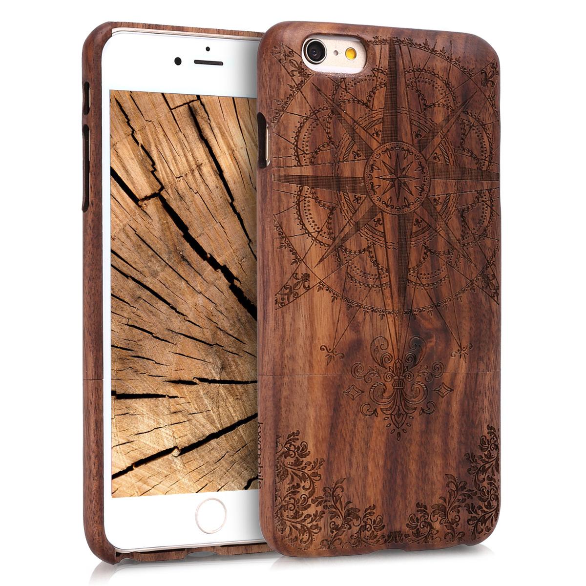 KW Σκληρή Ξύλινη Θήκη iPhone 6 Plus / 6S Plus (45130.01)