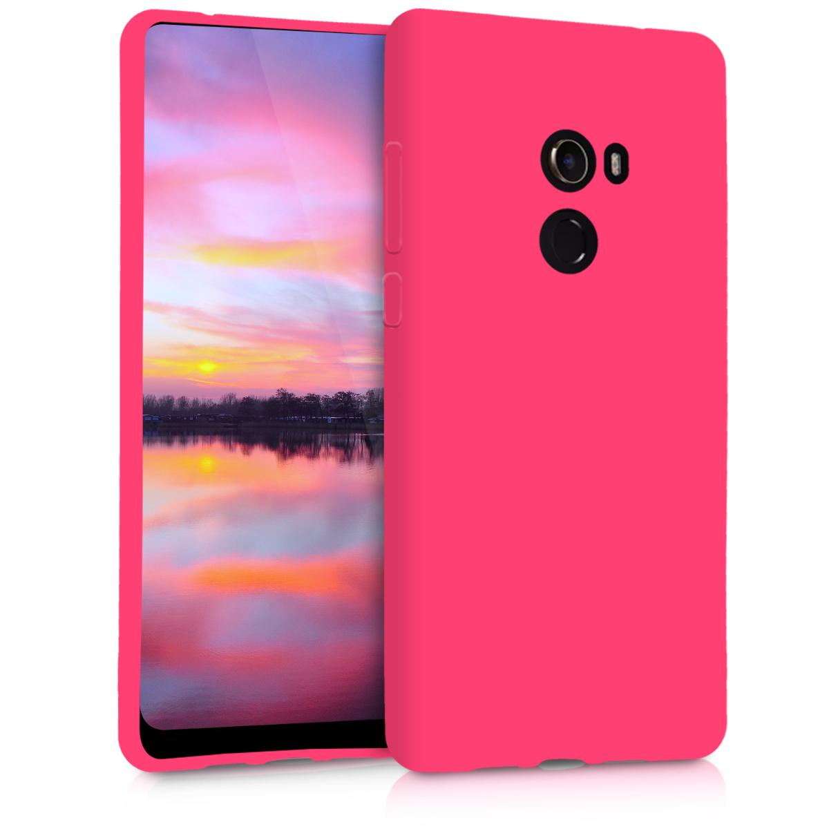 KW Θήκη Σιλικόνης Xiaomi Mi Mix 2 - Neon Pink (45183.77)