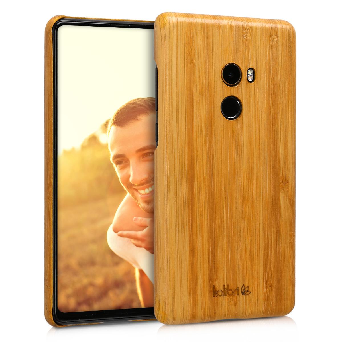 Kalibri Σκληρή Ξύλινη Θήκη Xiaomi Mi Mix 2 - Natural Wood (45510.24)