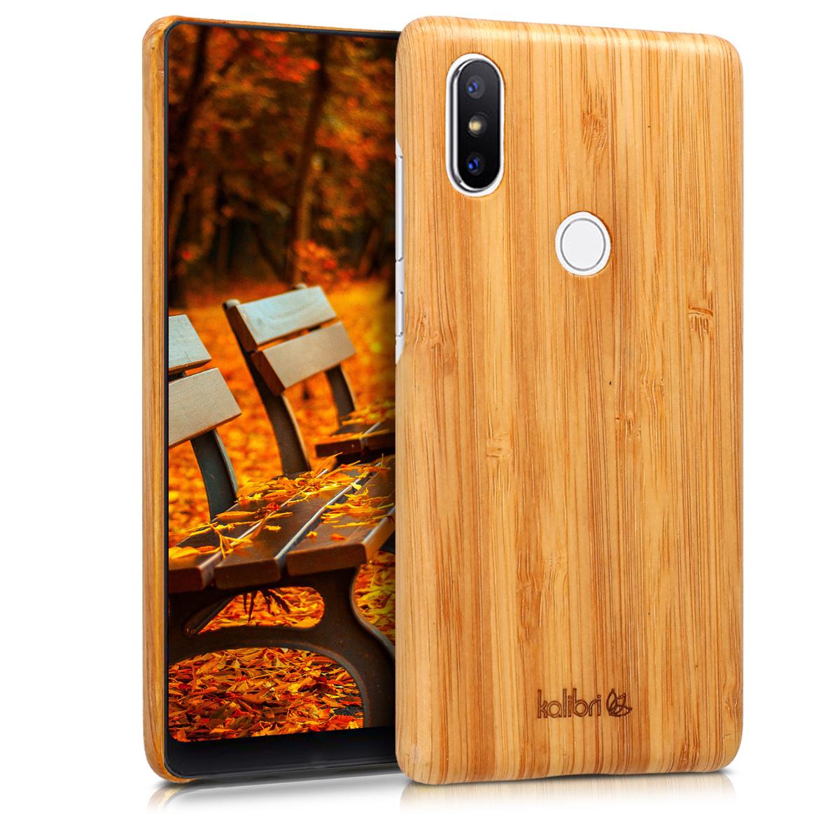 Kalibri Σκληρή Ξύλινη Θήκη Xiaomi Mi Mix 2S - Natural Wood (45511.24)