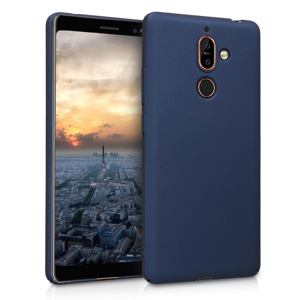 KW Σκληρή Θήκη Nokia 7 Plus  - Dark Blue (45699.17)