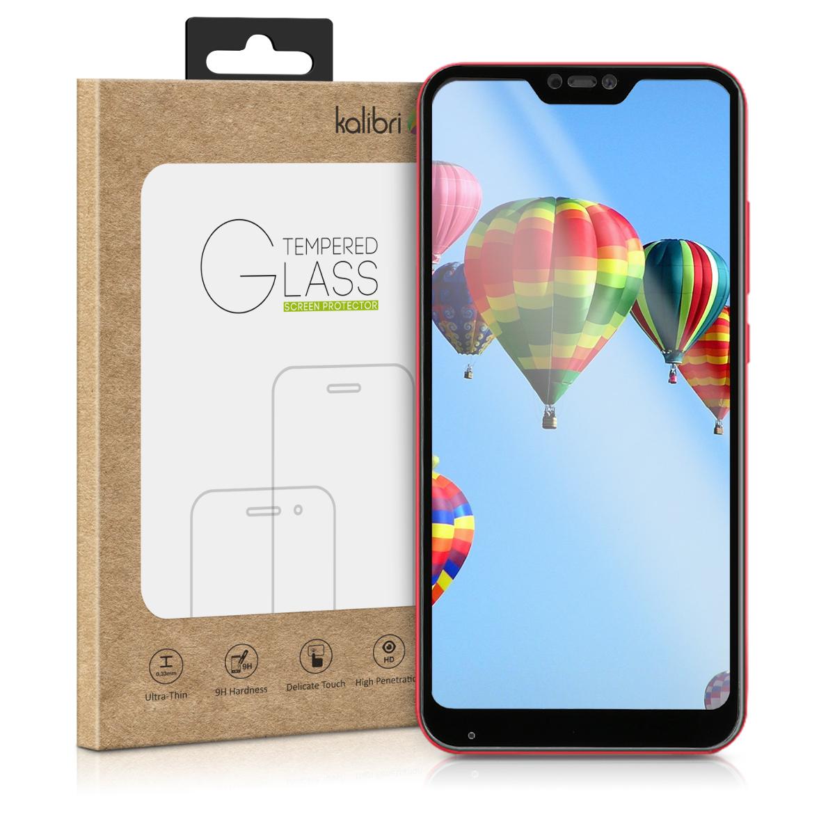 Kalibri Tempered Glass - Fullface Αντιχαρακτικό Γυαλί Οθόνης Xiaomi Redmi 6 Pro / Mi A2 Lite (45729.01)