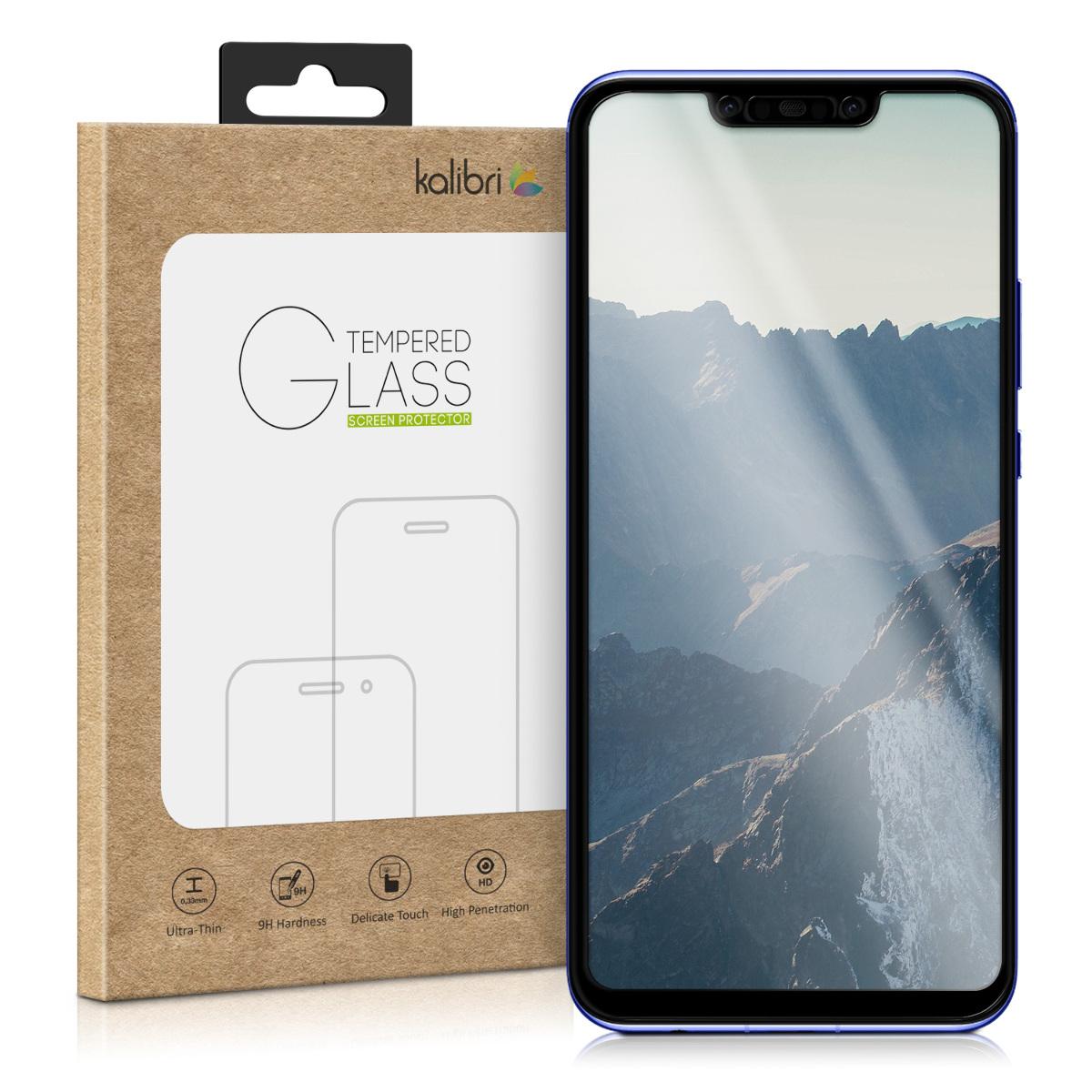 Kalibri Tempered Glass - Fullface Αντιχαρακτικό Γυαλί Οθόνης  Huawei Nova 3 (45763.01)