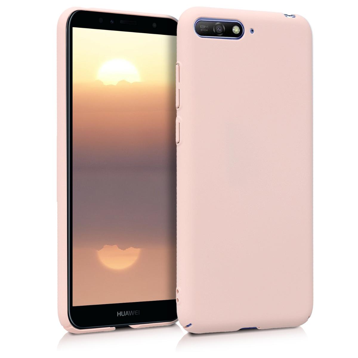 KW Σκληρή θήκη - Huawei Y6 (2018) - Rose Gold Matte (45776.89)