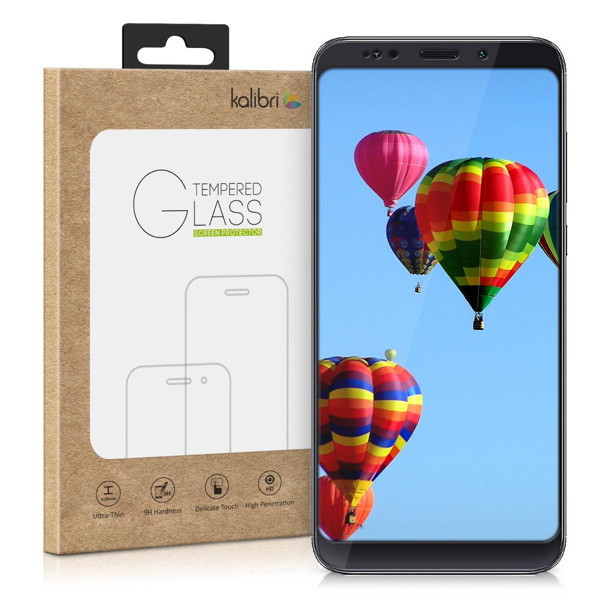Kalibri Tempered Glass - Fullface Αντιχαρακτικό Γυαλί Οθόνης Xiaomi Redmi Note 5 / Note 5 Pro (45870.01)