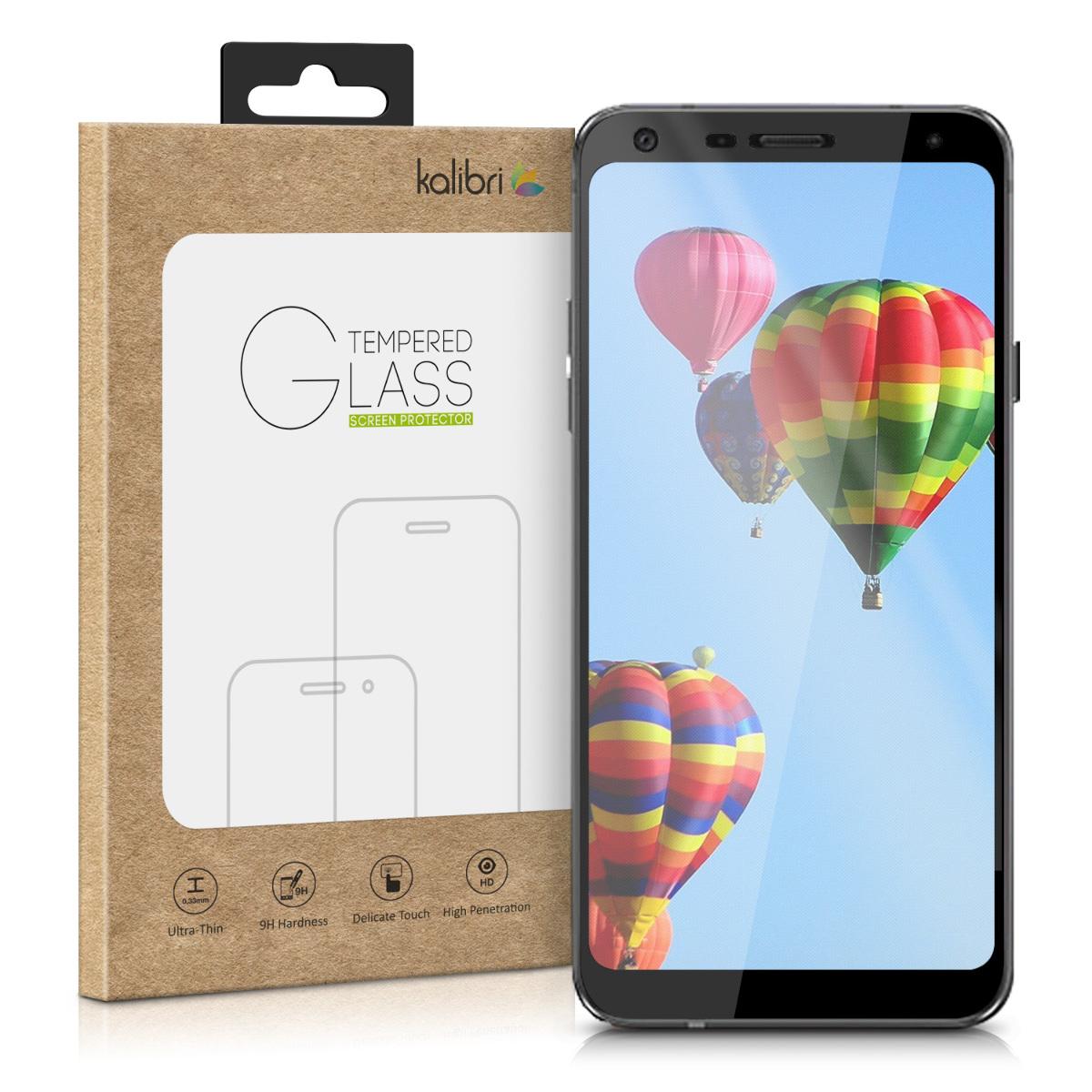 Kalibri Tempered Glass - Fullface Αντιχαρακτικό Γυαλί Οθόνης LG Q7 (45782.01)