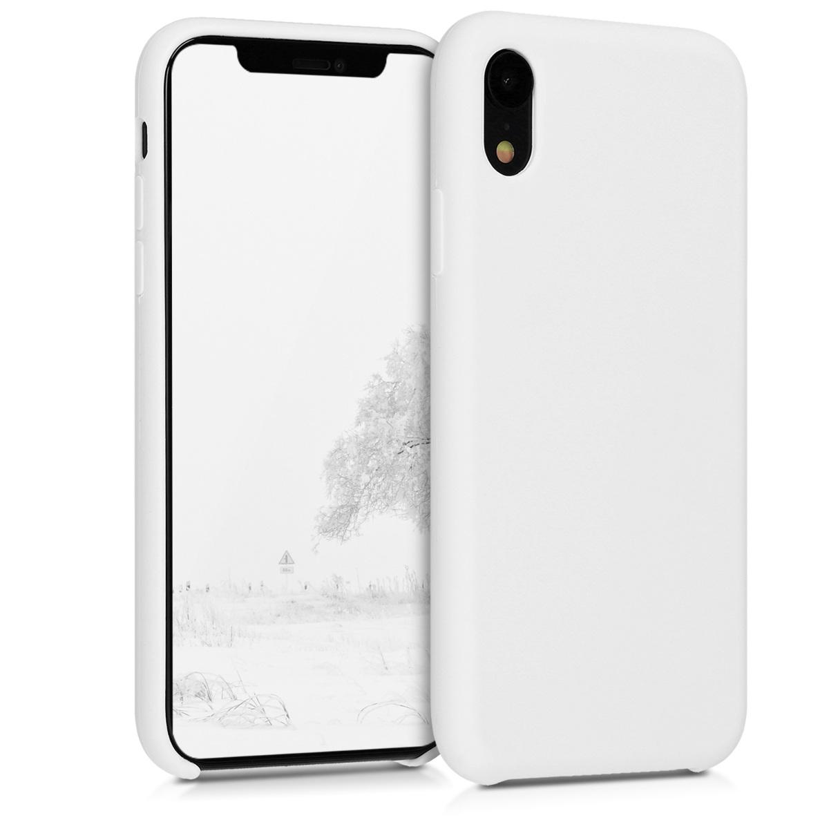 KW TPU Θήκη Σιλικόνης Apple iPhone XR - Soft Flexible Rubber - White (45910.02)