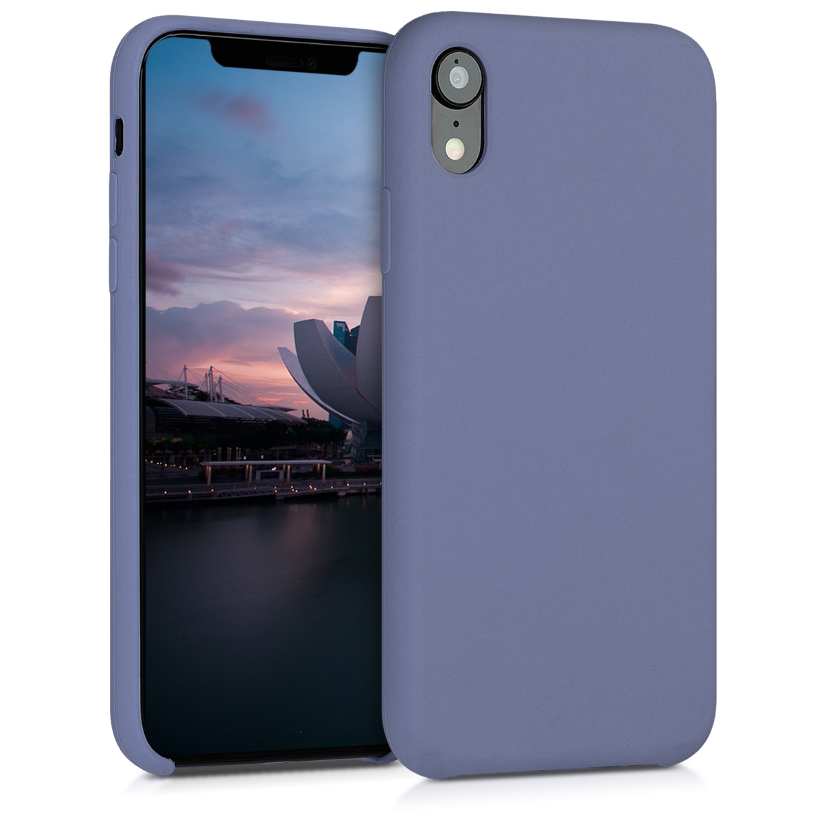 KW TPU Θήκη Σιλικόνης Apple iPhone XR - Lavender Grey (45910.130)