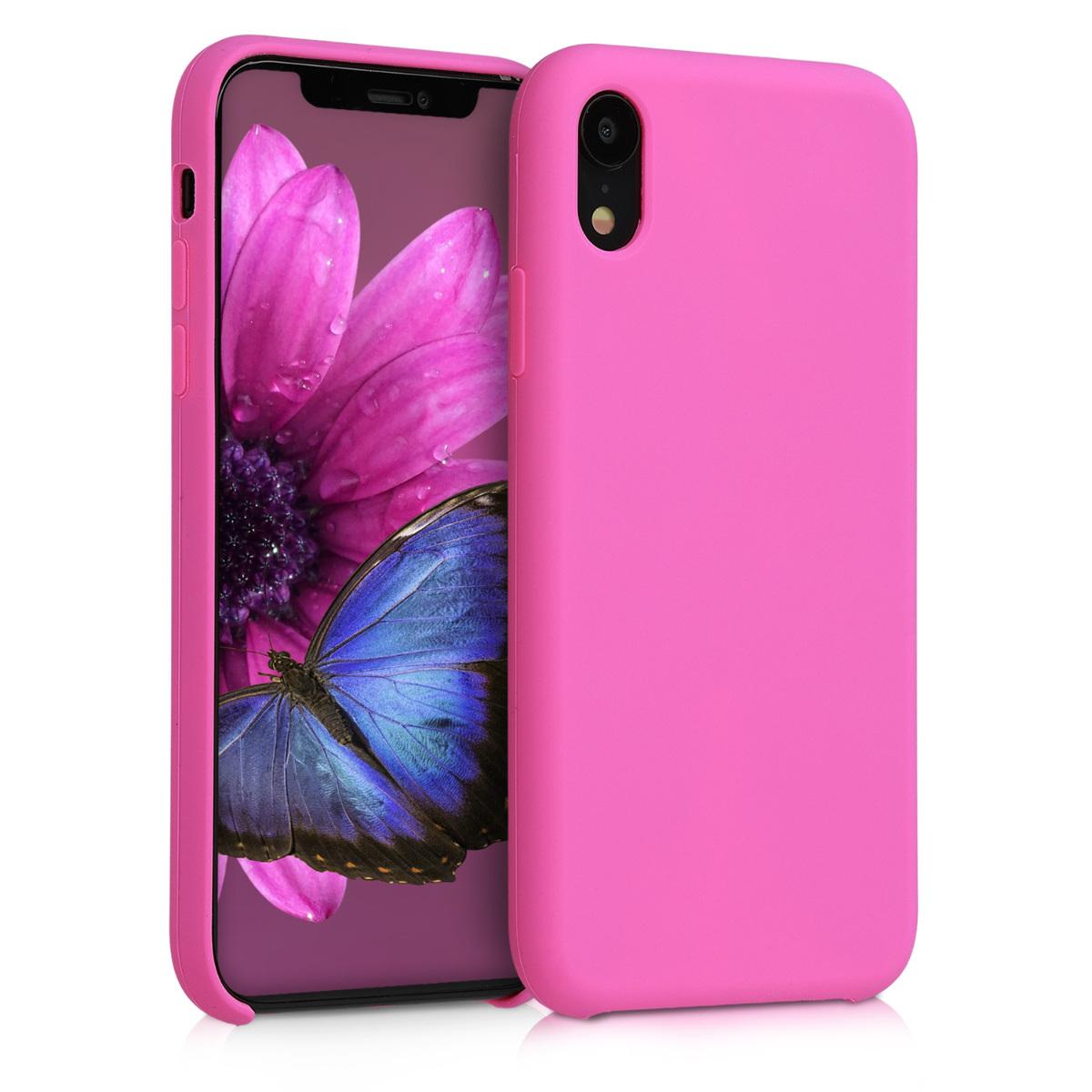 KW TPU Θήκη Σιλικόνης - Apple iPhone XR - Soft Flexible Rubber Protective Cover - Magenta (45910.135)