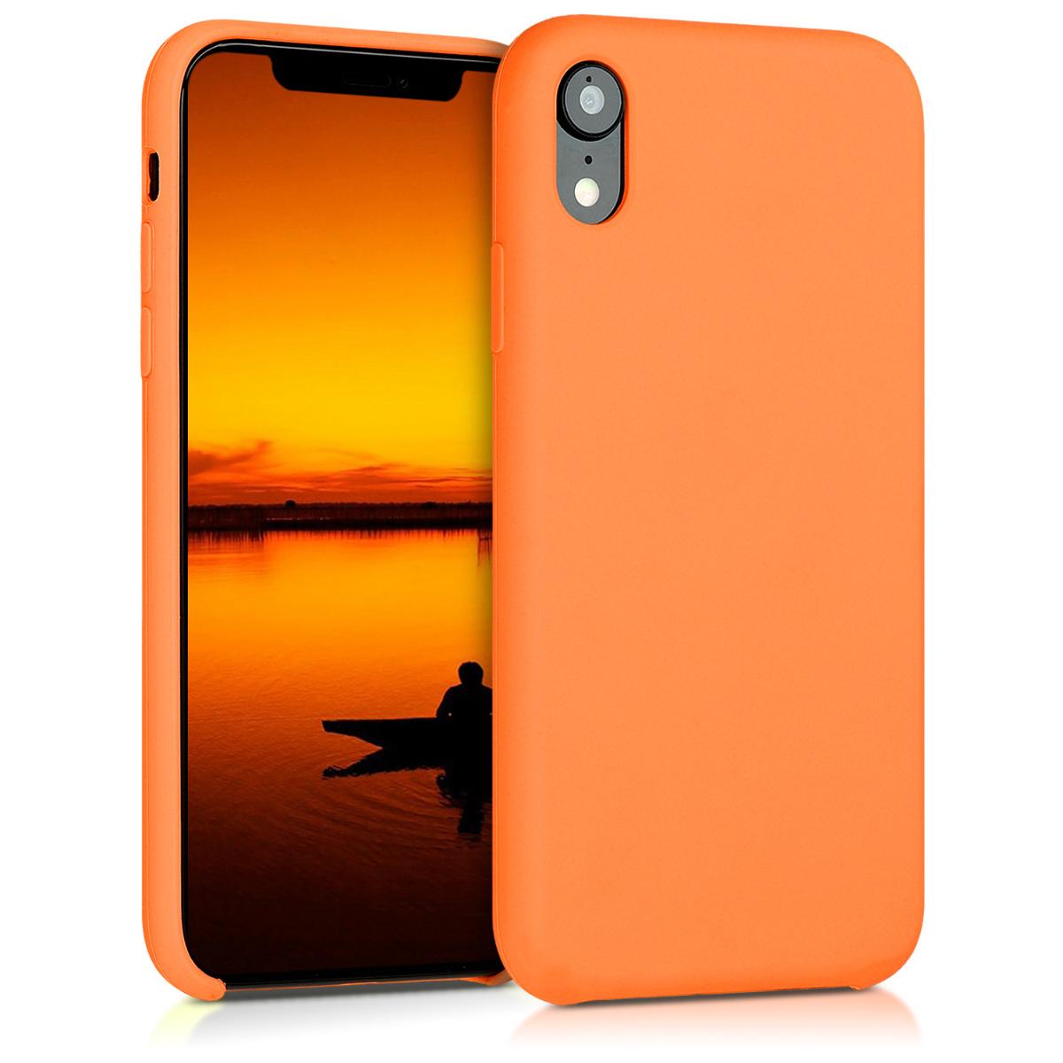 KW Θήκη Σιλικόνης Apple iPhone XR - Cosmic Orange (45910.150)