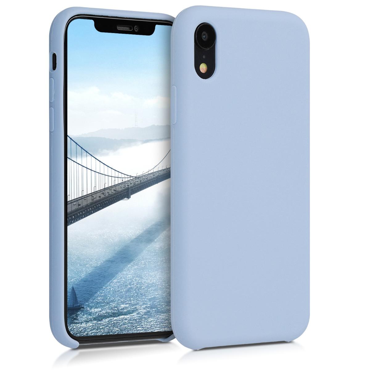 KW TPU Θήκη Σιλικόνης Apple iPhone XR - Soft Flexible Rubber Protective Cover - Light Blue Matte (45910.58)