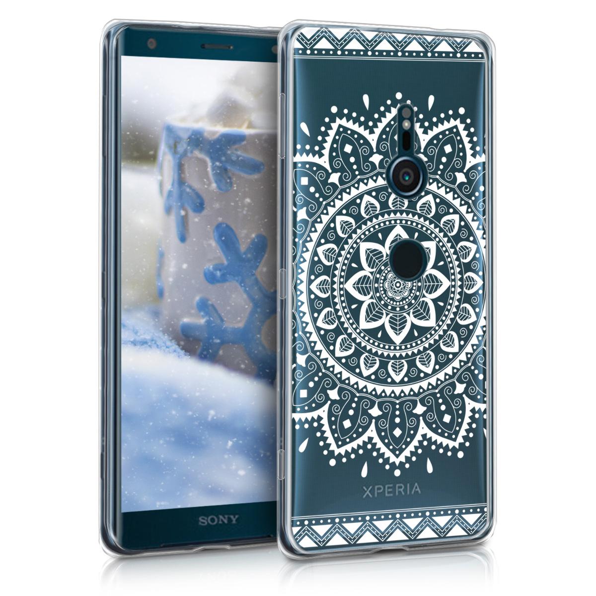 KW Θήκη Σιλικόνης Sony Xperia XZ3 - White / Transparent (45916.14)