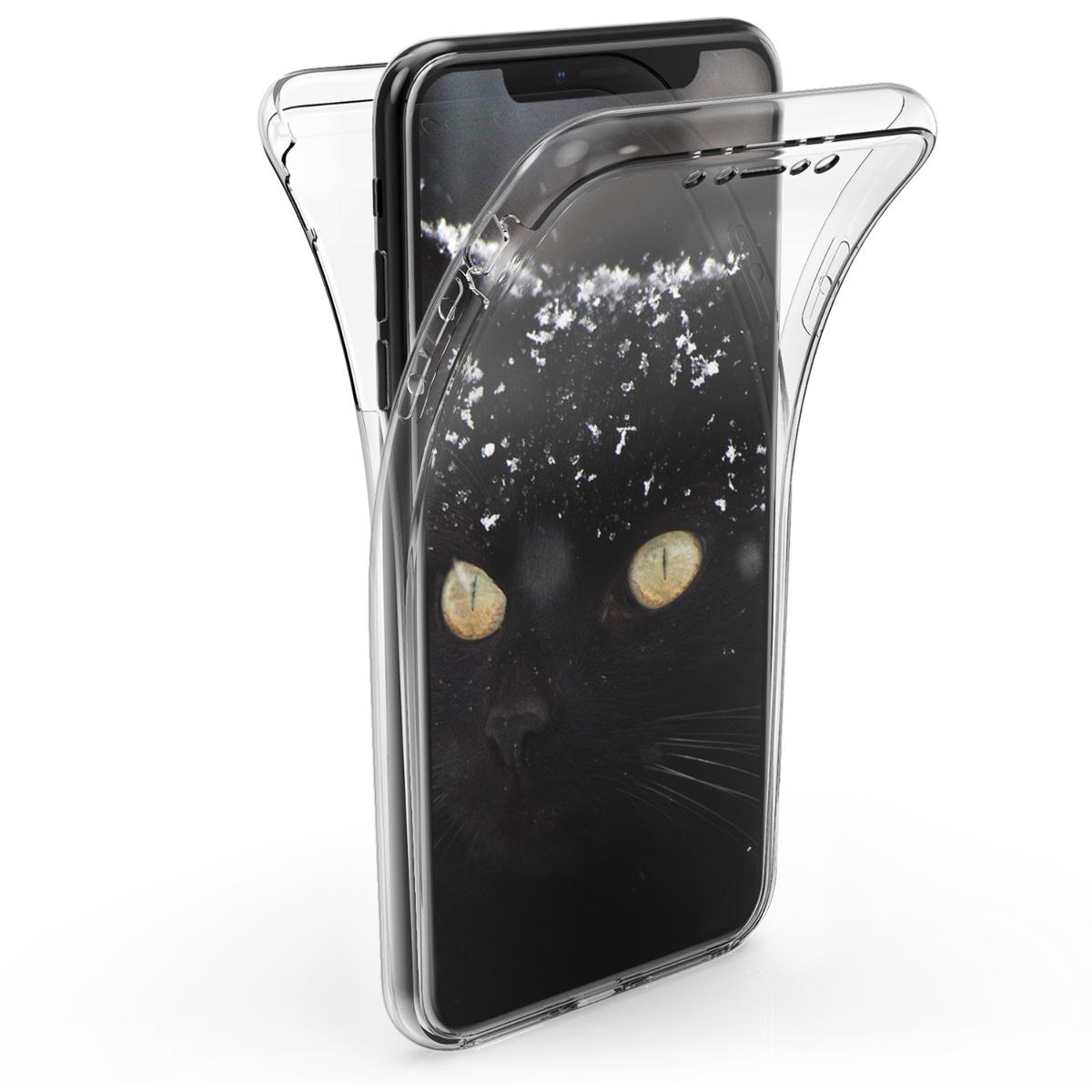 KW Διάφανη Θήκη Σιλικόνης Full Body iPhone XS Max (45953.03)