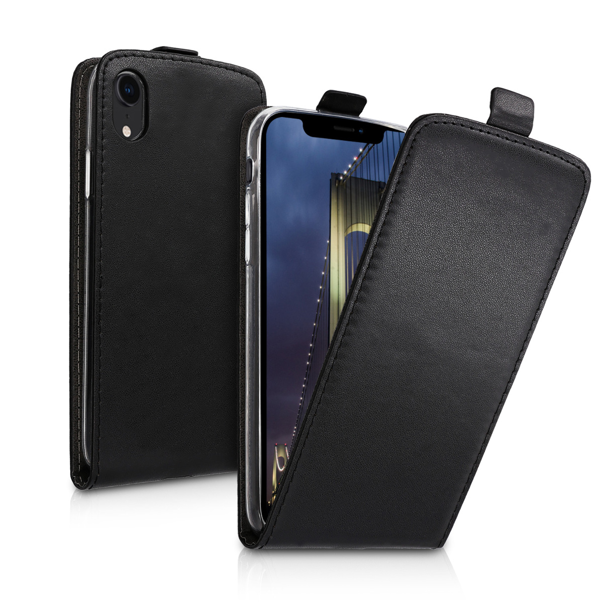 KW Flip Θήκη Apple iPhone XR - Black (45956.01)