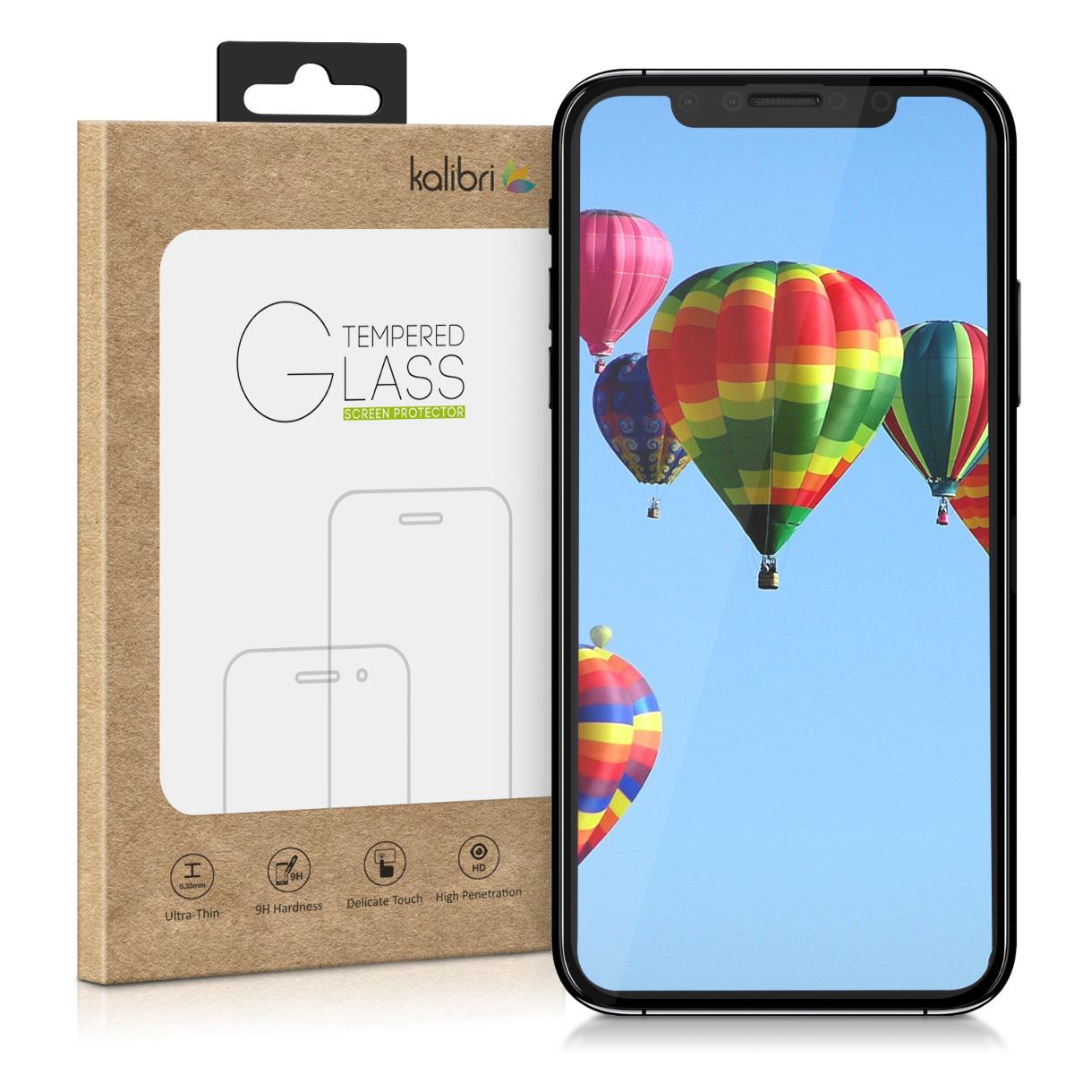 Kalibri Tempered Glass - Fullface Αντιχαρακτικό Γυαλί Οθόνης Apple iPhone XR - Black (45961.01)