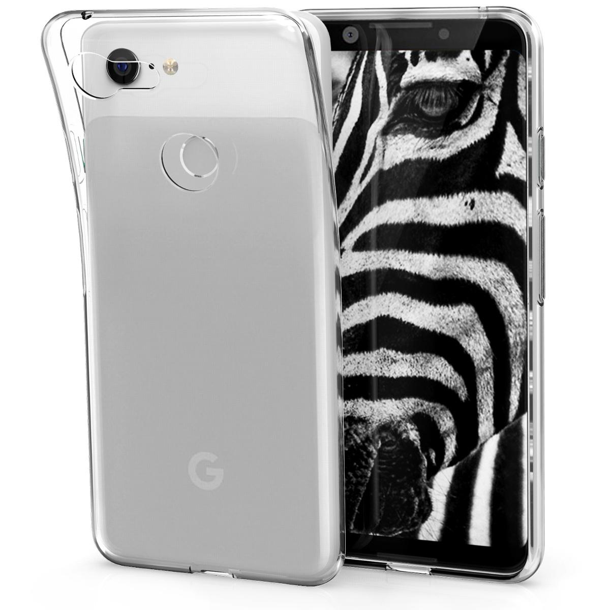 KW Διάφανη Θήκη Σιλικόνης Google Pixel 3 (45966.03)