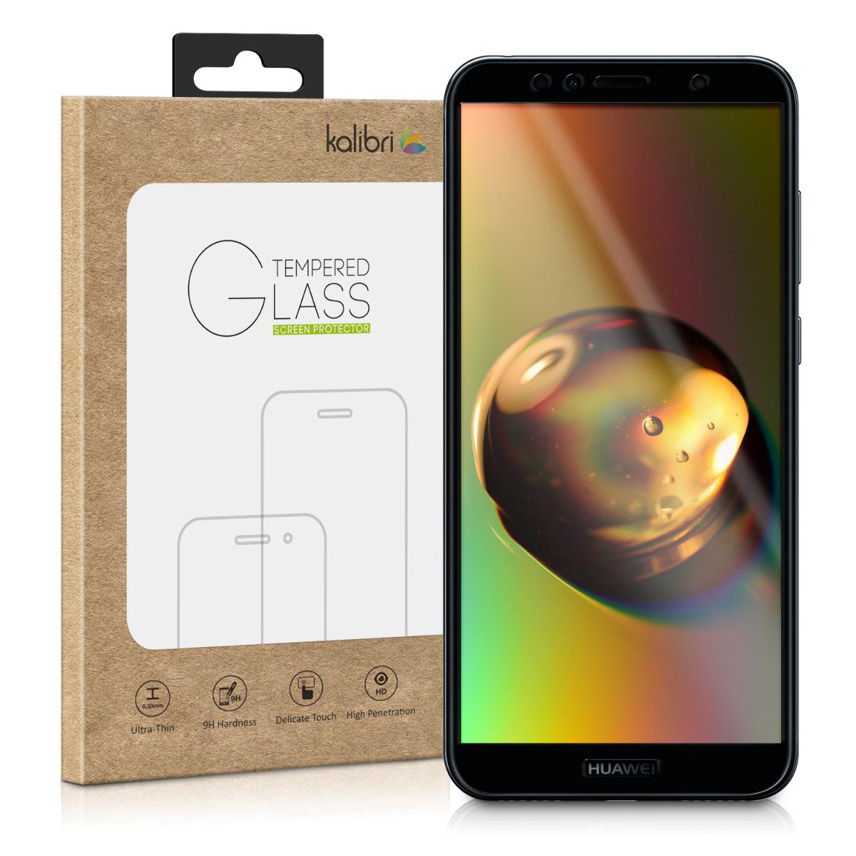 Kalibri Tempered Glass - Fullface Αντιχαρακτικό Γυαλί Οθόνης Huawei Y6 2018 - Black Frame (45991.01)