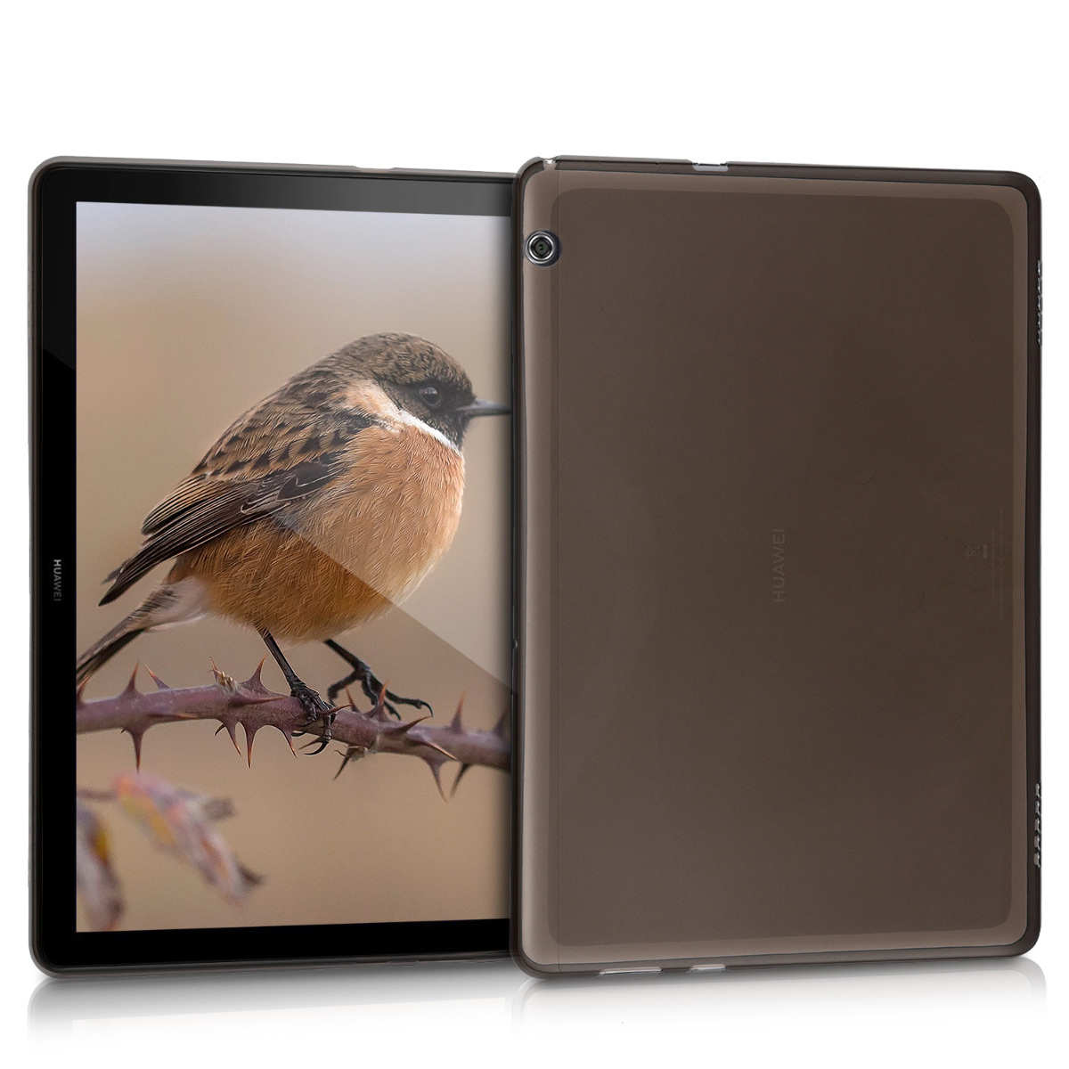 KW Θήκη Σιλικόνης Huawei MediaPad T5 10' - Black (46113.01)