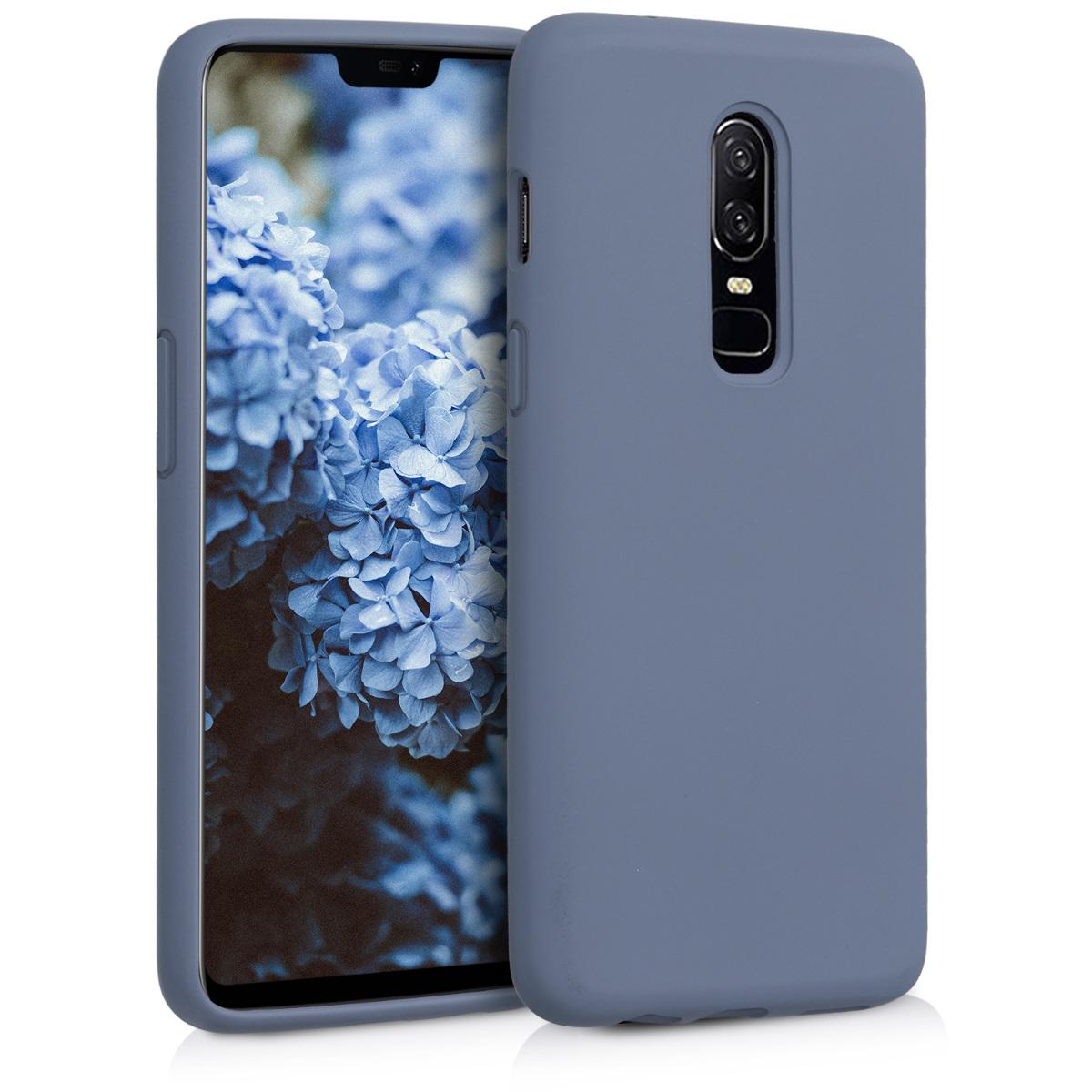 KW TPU Θήκη Σιλικόνης - OnePlus 6 - Lavender Grey (46122.130)