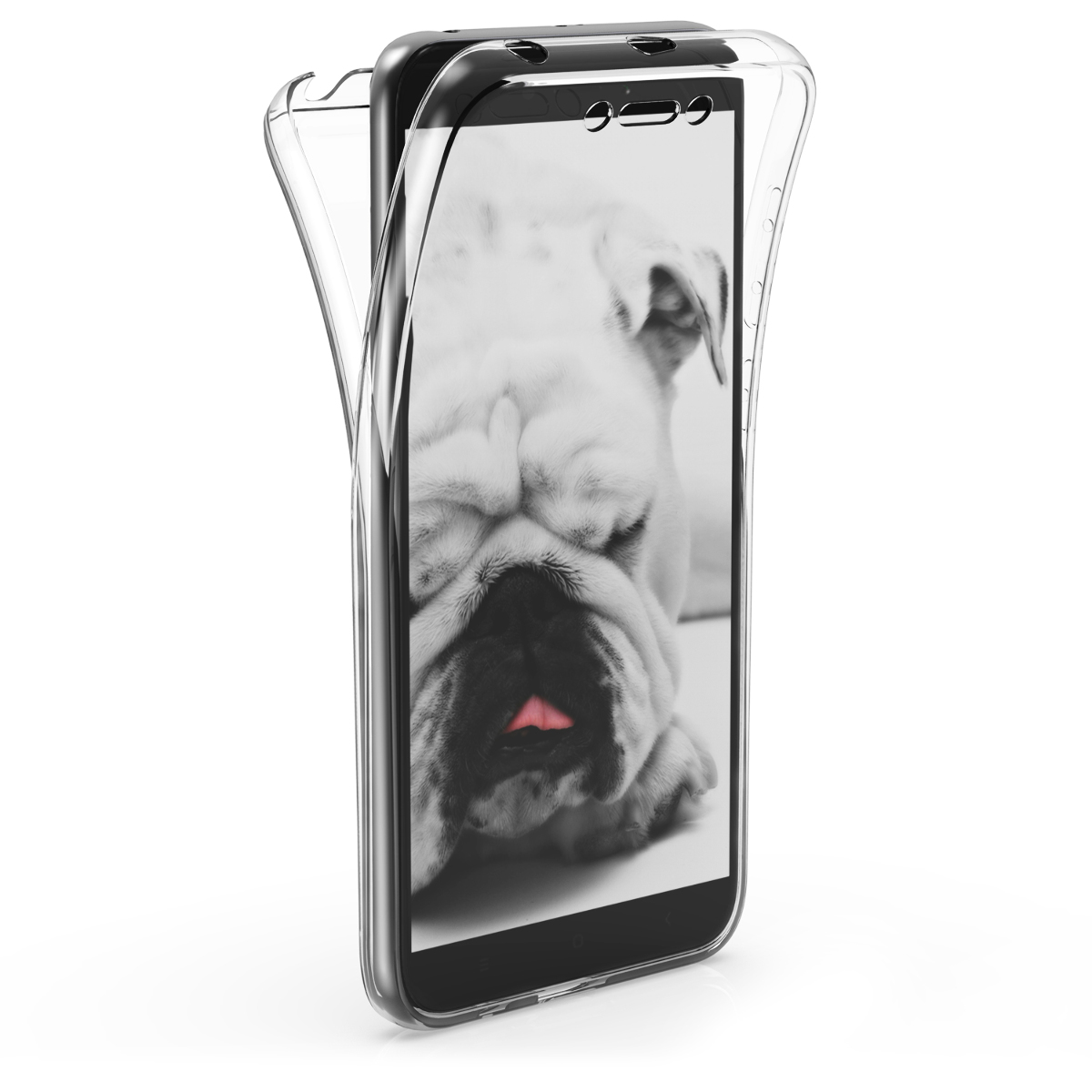 KW Διάφανη Θήκη Σιλικόνης Full Body Xiaomi Redmi 5A (46143.03)
