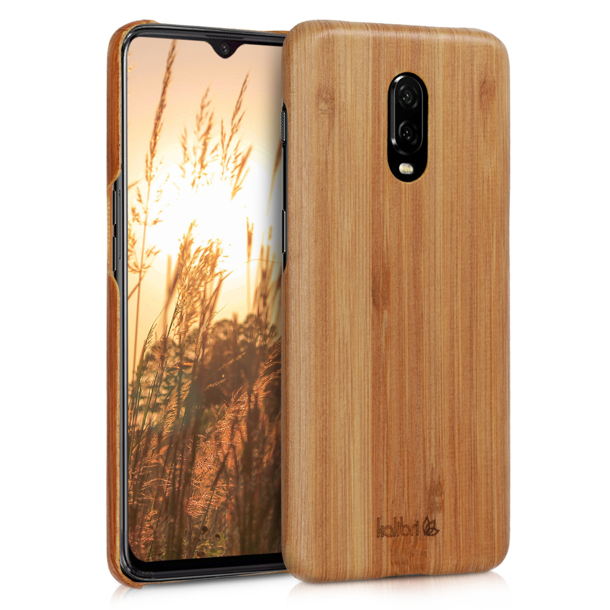 Kalibri Σκληρή Ξύλινη Θήκη OnePlus 6T - Ultra Slim  (46317.24)
