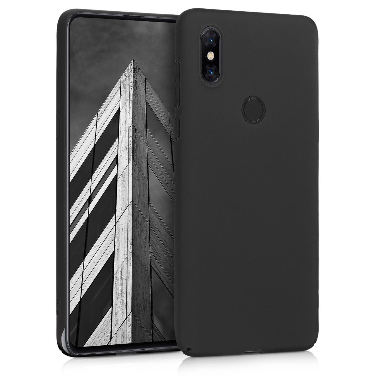 KW Slim Anti-Slip Cover - Σκληρή Θήκη Καουτσούκ Xiaomi Mi Mix 3 - Μαύρο (46340.47)