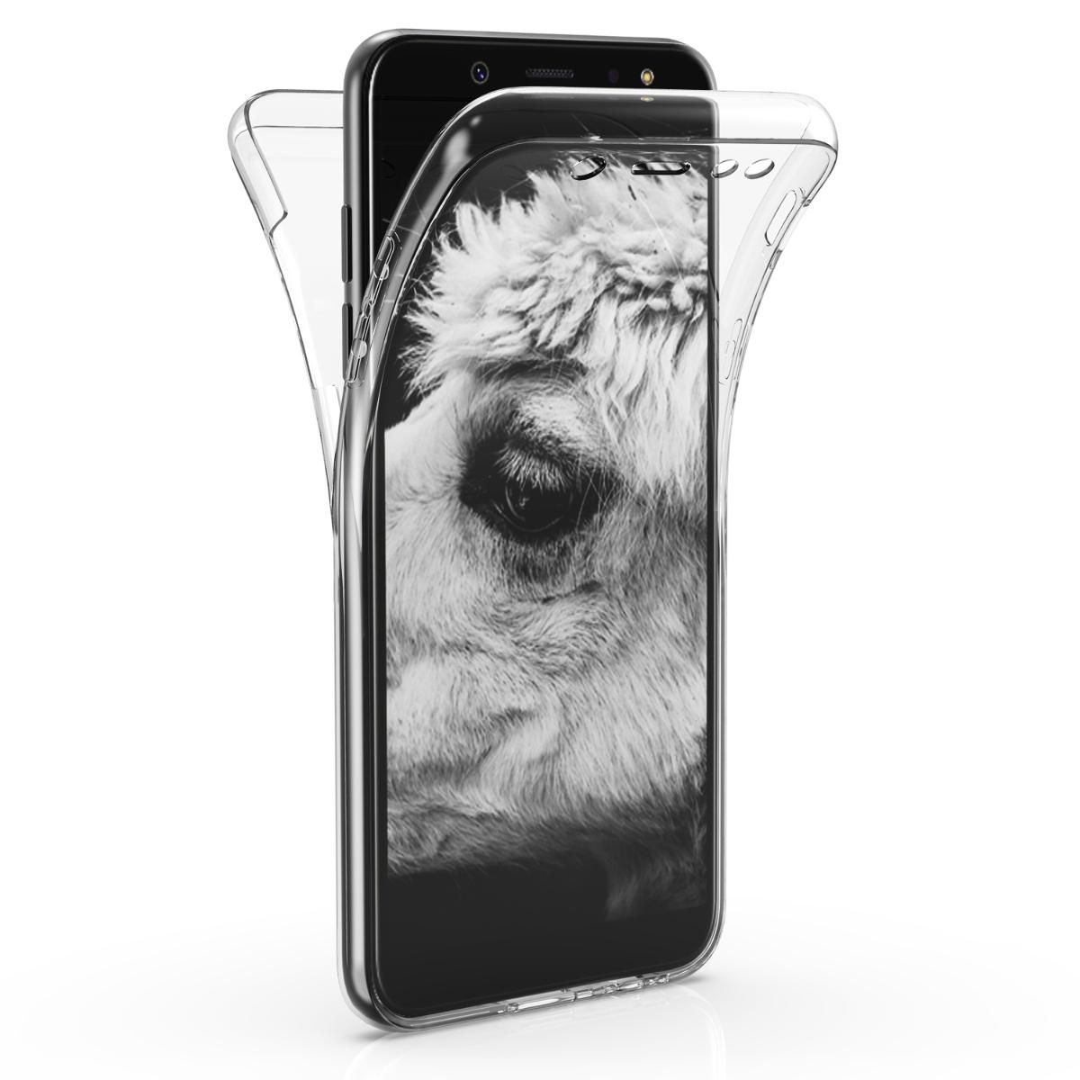 KW Διάφανη Θήκη Σιλικόνης Full Body Samsung Galaxy A6 (2018) (46373.03)