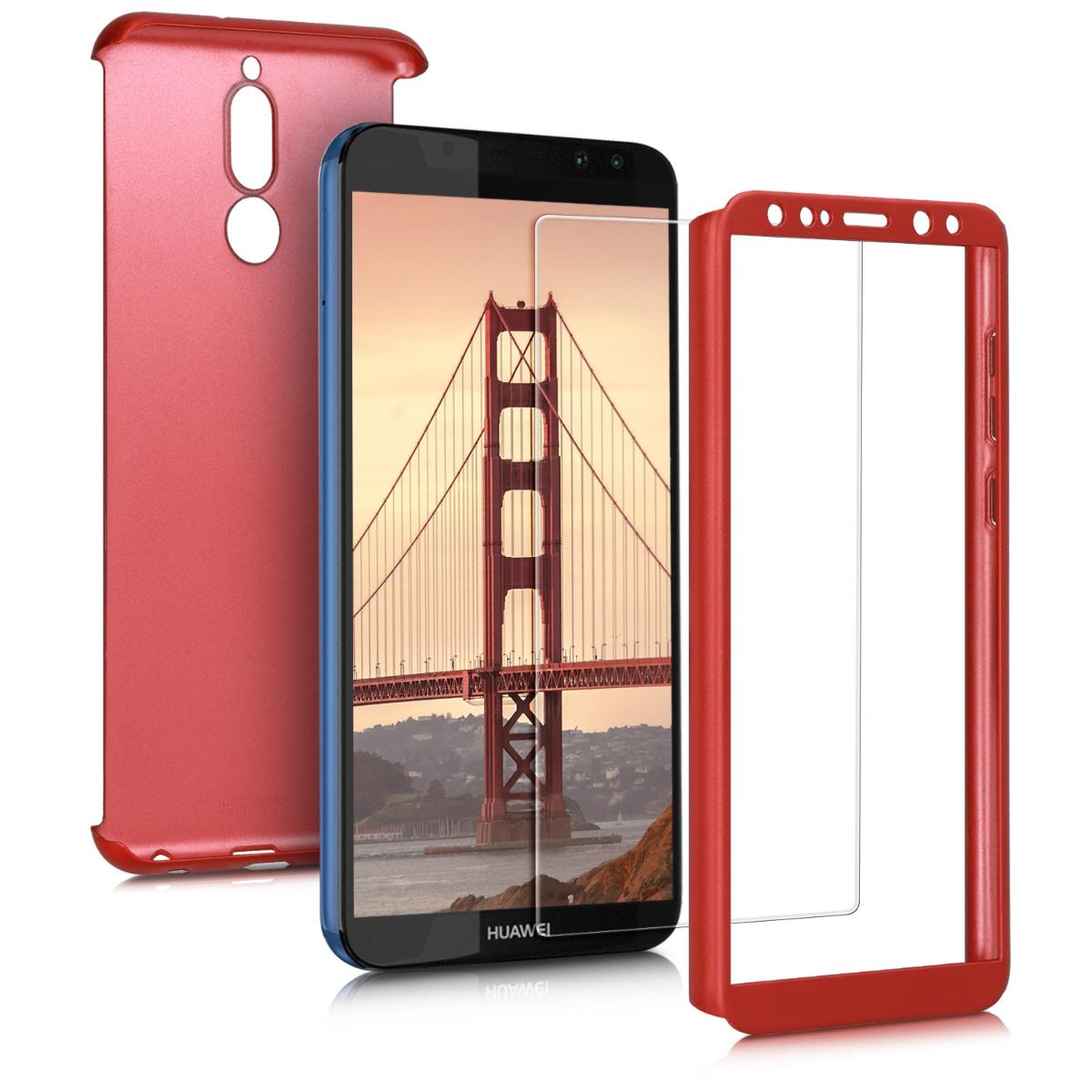 KW Θήκη Full Body Huawei Mate 10 Lite - Metallic Dark Red (46385.36)
