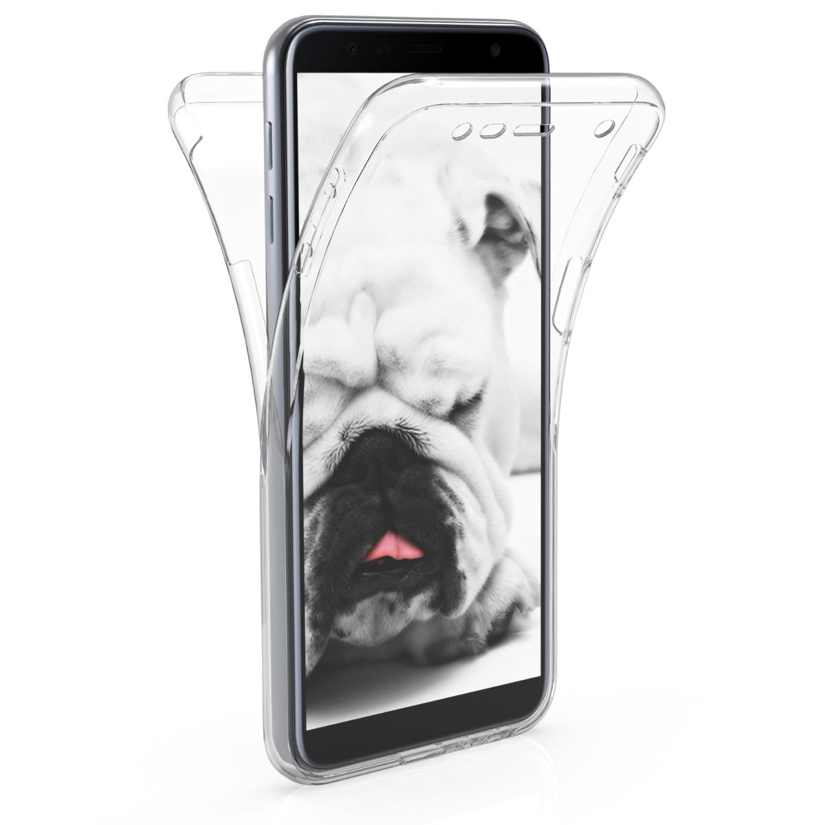 KW Διάφανη Θήκη Σιλικόνης Full Body Samsung Galaxy J6 Plus 2018 (46441.03)
