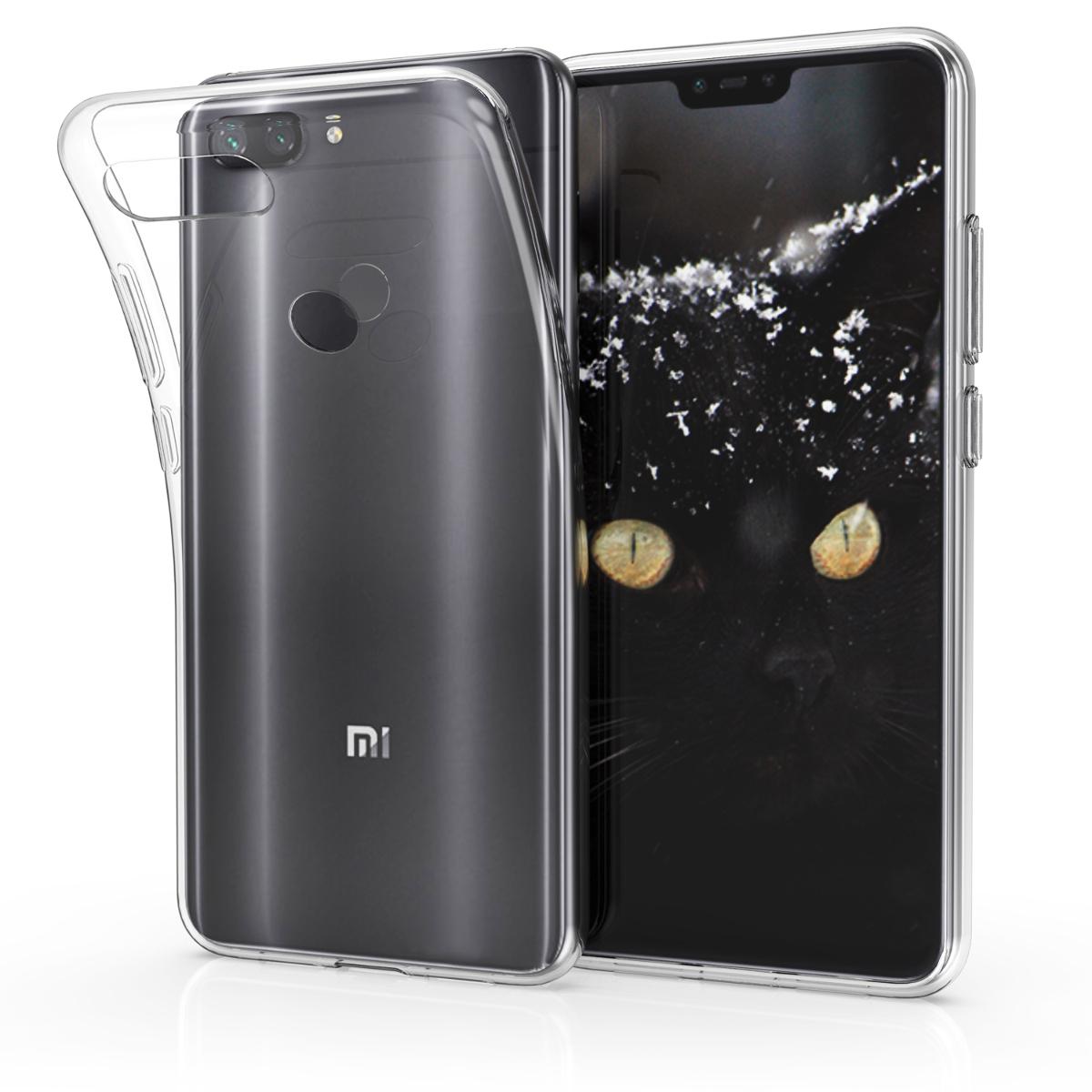 KW Θήκη Σιλικόνης Xiaomi Mi 8 Lite -Transparent (46450.03)