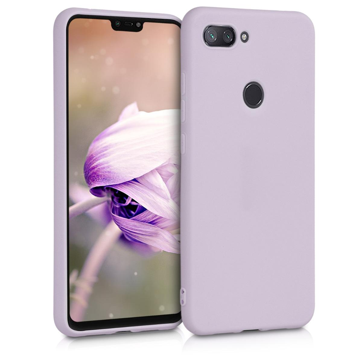 KW Θήκη Σιλικόνης Xiaomi Mi 8 Lite - Lavender (46451.108)
