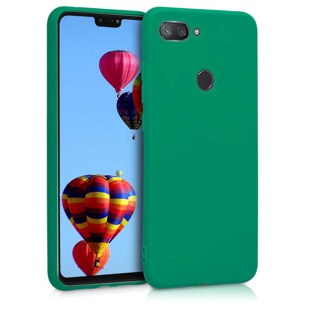 KW Θήκη Σιλικόνης Xiaomi Mi 8 Lite - Emerald Green (46451.142)
