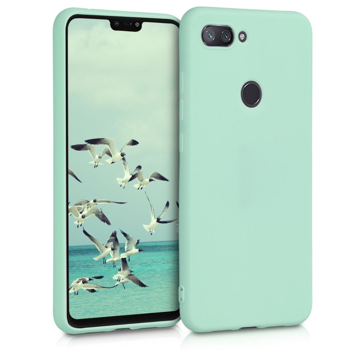 KW Θήκη Σιλικόνης Xiaomi Mi 8 Lite - Mint Matte (46451.50)