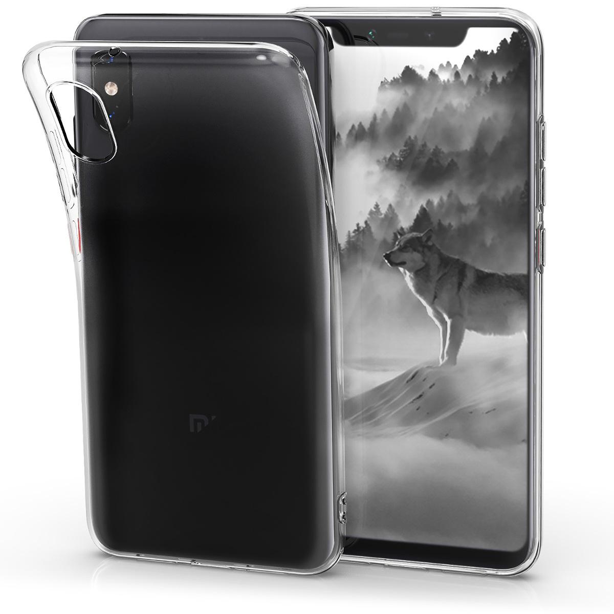 KW Διάφανη Θήκη Σιλικόνης Xiaomi Mi 8 Pro - Transparent (46453.03)