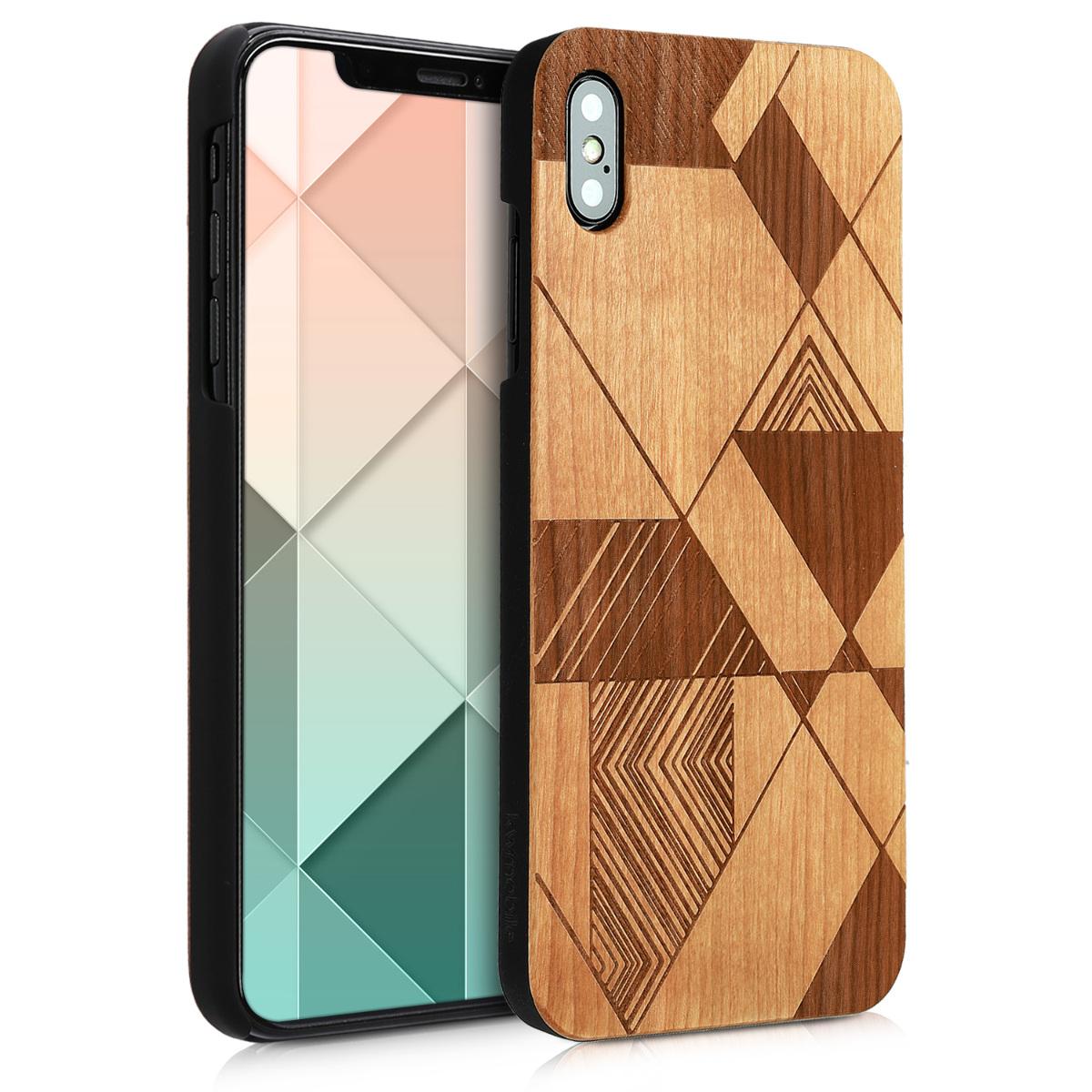 KW Ξύλινη Θήκη iPhone XS Max - Brown (46481.03)