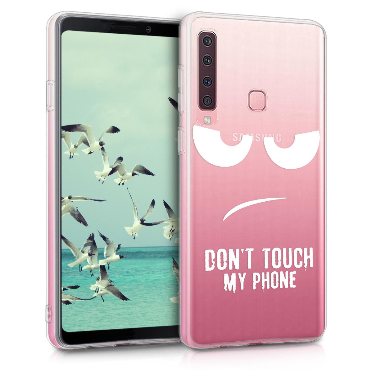 KW Θήκη Σιλικόνης TPU Samsung Galaxy A9 (2018) - Crystal Clear  - White / Transparent (46580.04)